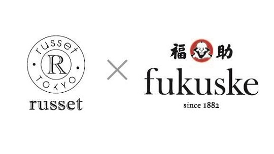 『russet×fukuske』コラボレーションソックスを新発売